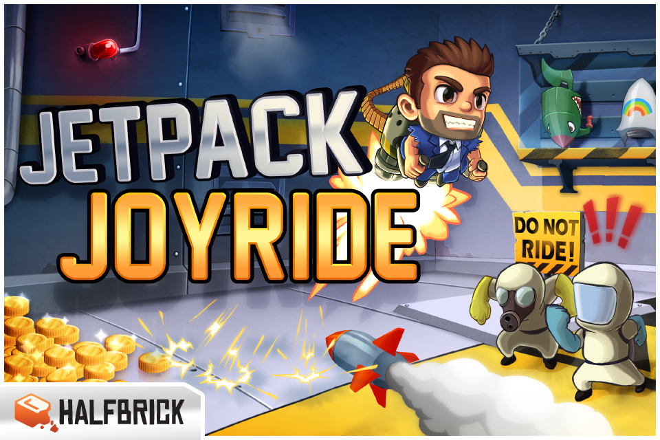 Image of Jetpack Joyride for iPhone