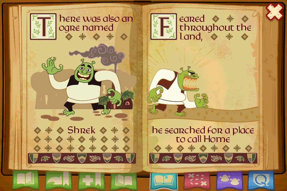 Screenshot Shrek's Fairytale Kingdom
